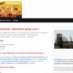 """Neue Webseite des Aktionsbündnis """"Bielefeld steigt aus"""""""