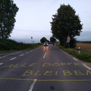 L277 bleibt! – Alle Dörfer Bleiben! Protestbilder